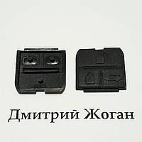 Резиновые кнопки для авто ключа  Chevrolet Lacetti (Шевролет лачети)