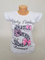 """Женская футболка с """"Счастливым номером"""""""
