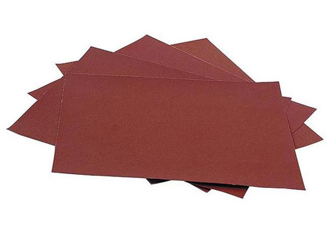 Наждачная бумага и шлифовальная шкурка