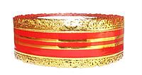 Лента флористическая (5 см х 25 ярдов) Красный