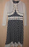 Платье для девочки в горох