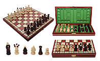 Шахматы «Королевские Red» (32 см, Польша)