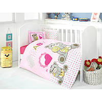 Постельное белье для младенцев Yumos Pembe ранфорс Eponj Home