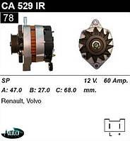 Генератор Volvo 340-360 1.6 Diese 84-91г 60Amp.CA529IR