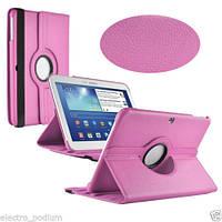 Вращающийся светло-розовый чехол для Samsung Galaxy Tab 3 10.1 p5200