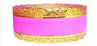 Лента флористическая (5 см х 25 ярдов) Розовый