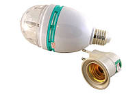 Большая вращающаяся диско лампа 3W; Е27; 15*8см