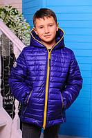 Демисезоння Куртка для мальчика «Монклер-1», 116-146 рост