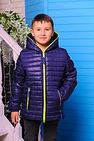 Демисезоння Куртка для мальчика «Монклер-2», 116-146 рост