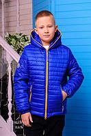 Демисезоння Куртка для мальчика «Монклер-4», 116-146 рост