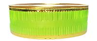 Лента флористическая гофро (5 см х 25 ярдов) Салатовый