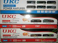 Усилитель звука UKC KA-102F 2*150ВТ  FM  КАРАОКЕ  USB