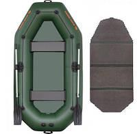 Kolibri К-280CТ book - лодка надувная Колибри 280 с жестким настилом