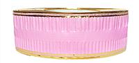 Лента флористическая гофро (5 см х 25 ярдов) Светло-розовый