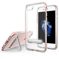 Чехол Spigen для iPhone 7 Crystal Hybrid, Rose Gold, фото 1