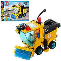 Конструктор BRICK 1101 мусороуборочная машина, 102 детали, в кор-ке, 22-14-4,5см
