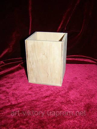 Карандашница (9 х 9 х 11,5 см), фото 2