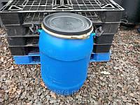 Бочка 80 литров б/у пластиковая со съемной крышкой