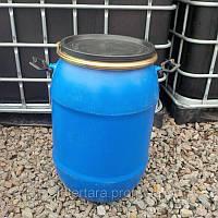 Бочка 50 литров б/у пластиковая со съемной крышкой