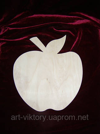 Заготовка - трафарет яблоко, фото 2
