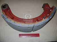 Колодка тормозной КРАЗ задней верхний в сборе (Производство АвтоКрАЗ) 255Б-3502090