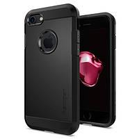 Чехол Spigen для iPhone 7 / 8 Tough Armor, Black, фото 1