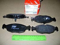 Колодка тормозной DAEWOO LANOS (KLAT), NEXIA передний (Производство TRW) GDB1040
