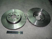 Диск тормозной RENAULT CLIO, KANGOO передний, вент. (Производство TRW) DF4110