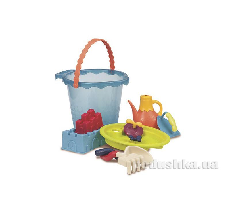 Набор для игры с песком и водой Мега-ведерце Battat BX1444Z   - Podushka.ua - интернет-магазин Подушка в Киеве
