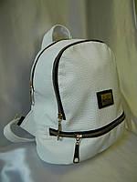 Женский рюкзак MOSCHINO рюкзак женский кожзам белый не оригинал, фото 1