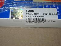 Кольца поршневые FORD 4 Cyl. 86,20 1,60 x 2,00 x 4,00 mm (Производство SM) 792126-00-4