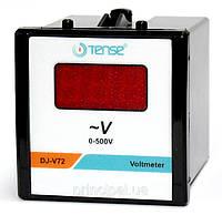 Электронный вольтметр цифровой TENSE щитовой 72х72 мм цена переменного тока шкаф вольтметры цифровые, фото 1