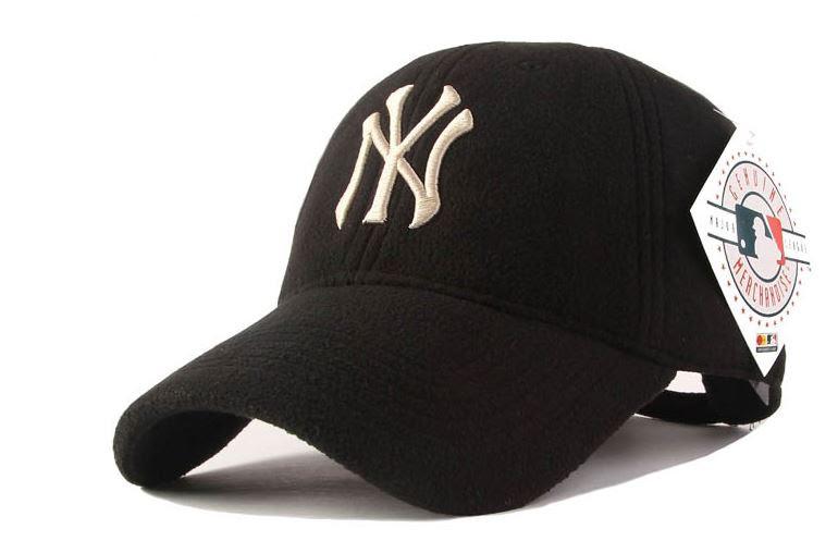 Качественные зимние бейсболки New York для стильной молодежи. Практичный  дизайн. Теплая кепка. a307b89da9ebe