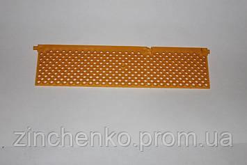 Решетка пыльцесборника 310х78мм