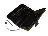 """Чехол с клавиатурой для планшетов 7"""" (miniUSB). Черный"""