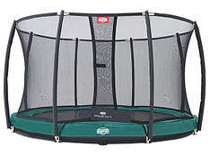 Батут InGround Favorit 14 ft (430 +защ. сетка Deluxe InGround (35.14.47.02+35.72.24.02) 2015