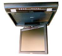"""Автомобильный телевизор потолочный 15"""". TV, DVD, USB, SD/MMC"""