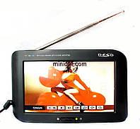 Телевизор портативный 12-220В Deso TV-C707. 7``, TV, USB, SD-MMC