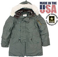 Куртка Аляска N3B ( Extreme Cold Weather Parka) US Army ОРИГИНАЛ