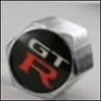 Колпачки на ниппель в блистере (4 шт.+ ключ) NISSAN-GTR