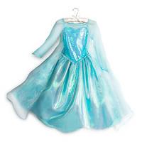 Карнавальный костюм платье Эльзы для девочки - Дисней