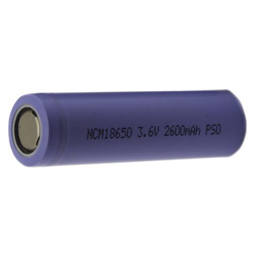 Аккумулятор 18650 плоский контакт Li-ion 3.6В 2600мАч