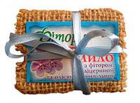 Мыло с фитором глицерином и маслом семян льна 130 г