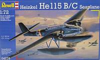 1:72 Сборная модель самолета He 115B/C, Revell 04276