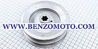 """Шкив (D=122мм, шлиц Z=6) привода коробки передач бензинового мотоблока с ременной передачей, тип """" GN-4"""