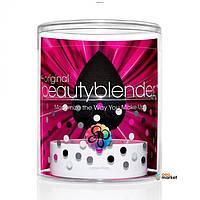 Спонжи Beautyblender Спонж Beautyblender Pro + Мыло для очистки Blendercleanser Solid 30 мл