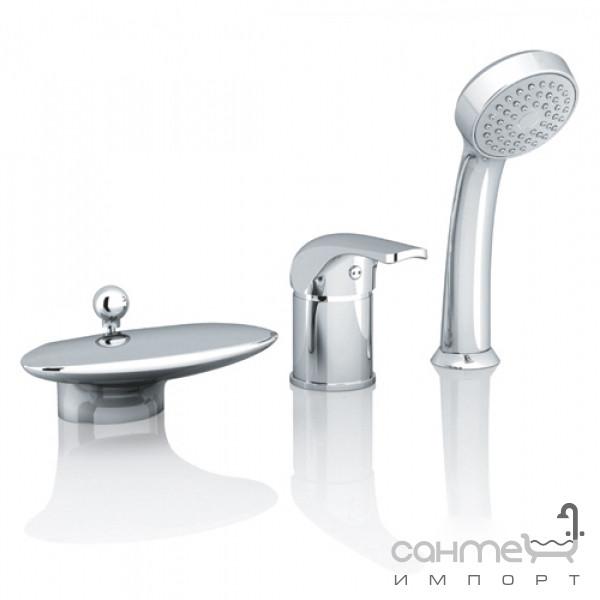 Смесители Ravak Врезной смеситель для ванны Ravak Rosa RS 025.00 X07P003