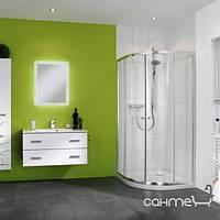 Душевые кабины, двери и шторки для ванн Huppe Полукруглая кабина, двустворчатая раздвижная дверь, R500 Huppe X0 620601.069.321