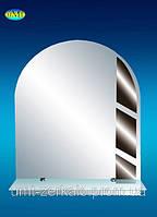 Зеркало с полочкой 002 графит