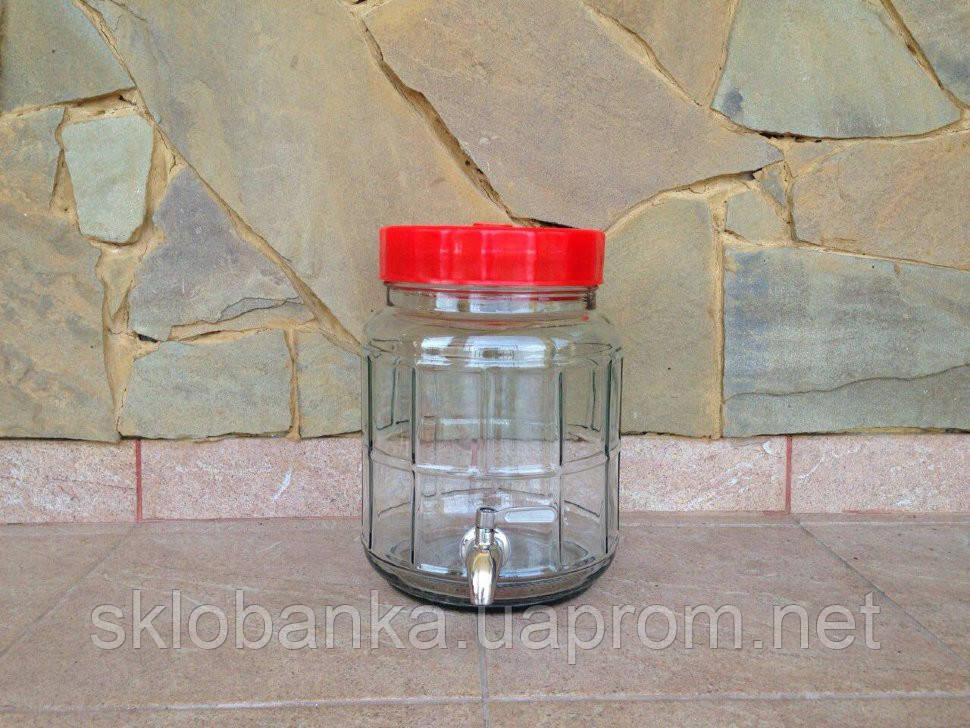 Бутыль 5 л с краном